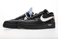 "BUTY damskie OFF-WHITE x Nike Air Force 1 ""Black"" AO4606-001"