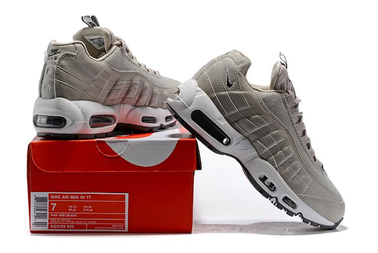 newest 87369 64c06 ... BUTY damskie Nike Air Max 95 SE AQ4129-600 szare ...