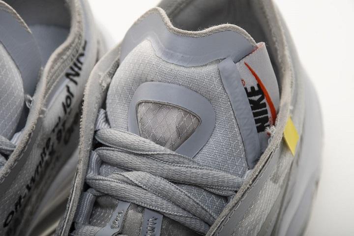 Buty damskie OFF WHITE X Nike Air Max 97 OG Light Grey AJ4585 002