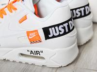 Buty męskie Nike Air Max 90 JUST DO IT White