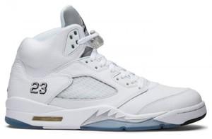 "Buty damskie Nike AIR JORDAN 5 ""Metallic Silver"" 136027-130"