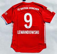 Koszulka piłkarska BAYERN MONACHIUM home 20/21 Authentic ADIDAS, #9 Lewandowski