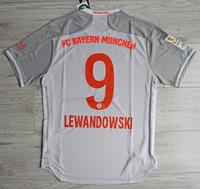Koszulka piłkarska BAYERN MONACHIUM away 20/21 Authentic ADIDAS, #9 Lewandowski