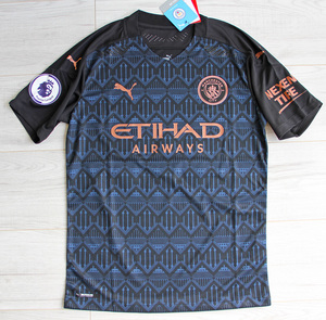 Koszulka piłkarska MANCHESTER CITY Authentic Away 20/21 Puma
