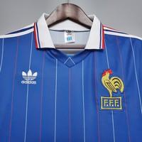 Koszulka piłkarska FRANCJA Retro Home World Cup 1982 Adidas