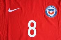 Koszulka piłkarska CHILE NIKE VaporKnit Home 2020, #8 Vidal