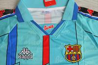 Koszulka piłkarska FC BARCELONA Retro Away 96/97 Kappa #8 Stoitchkov