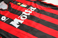 Koszulka piłkarska AC MILAN Retro 92/94 LOTTO, #9 Van Basten