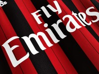 Koszulka piłkarska AC MILAN Retro Home 2013/14 Adidas #22 Kaka