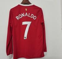 Koszulka piłkarska MANCHESTER UNITED Home long sleeve 21/22 ADIDAS #7 Ronaldo
