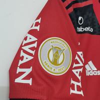 Koszulka piłkarska FLAMENGO home 21/22 Authentic ADIDAS, #16 FILIPE LUIS