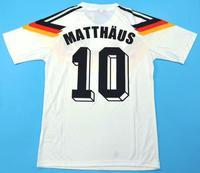 Koszulka piłkarska NIEMCY Retro World Cup 90 Adidas #10 MATTHAUS