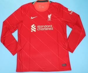 Koszulka piłkarska Liverpool FC home long sleeve 21/22 Nike #10 Mane