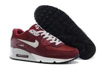 Buty damskie Nike Air Max 90 Essential 537384-605 bordowe