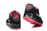 Buty męskie NIKE AIR MAX 90 czarne-czerwone 325213-061