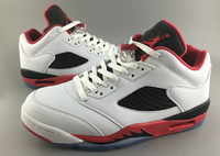 Buty męskie Nike AIR JORDAN 5 RETRO Low FIRE RED 819171-101