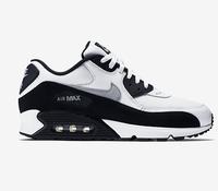Buty męskie Nike Air Max 90 biało-szaro-czarne
