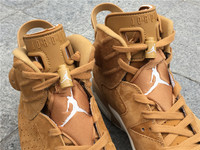 "NIKE AIR JORDAN RETRO 6 ""Golden Harvest"" 384664-705"