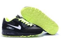 Buty męskie NIKE AIR MAX 90 czarne-zielone