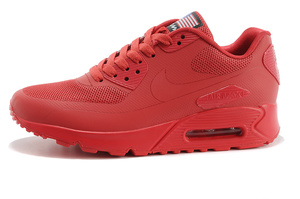 Buty damskie NIKE AIR MAX 90 HYPERFUSE red 613841-660