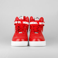 BUTY męskie NIKE AIR FORCE 1 HIGH SUPREME Varsity Red 698696-610