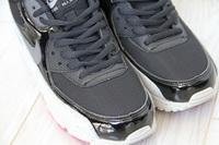 Buty damskie Nike Air Max 90 325213-031 BLACK CEMENT