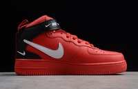BUTY męskie NIKE AIR FORCE 1 MID '07 LV8 RED 804609-605