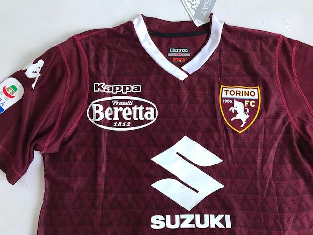 1a18234d0 Koszulka Piłkarska Ac Torino Home 18 19 Kappa  9 Belotti