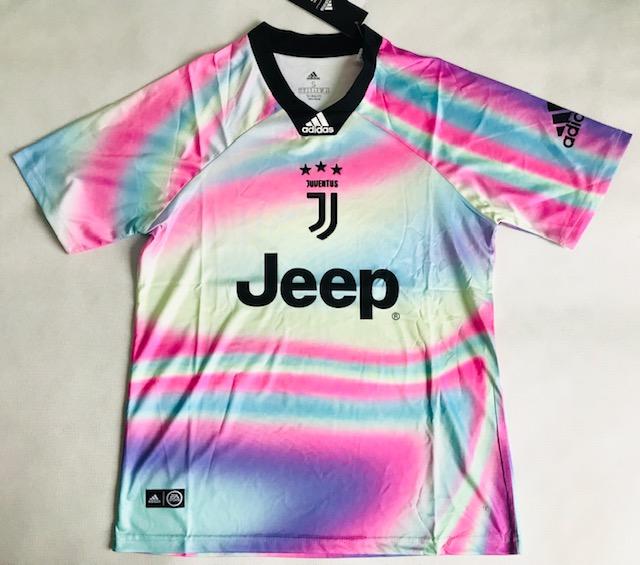 db508ae26 Koszulka Piłkarska Juventus Turyn Ea Sports 18/19 Adidas Multicolor ...