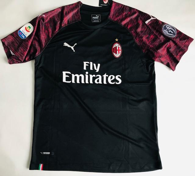 Nietypowy Okaz Koszulka Piłkarska Ac Milan 3Rd 18/19 Puma #19 Piątek, Liga WŁOSKA WV68