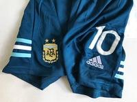 Dziecięcy zestaw piłkarski ARGENTYNA Home 2019 Adidas (koszulka+spodenki+getry) #10 MESSI