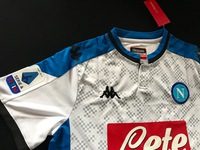 Koszulka piłkarska SSC NAPOLI 19/20 3rd KAPPA #99 MILIK, #20 ZIELIŃSKI