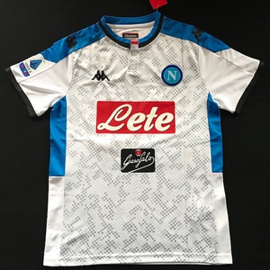 Koszulka piłkarska SSC NAPOLI 19/20 Away KAPPA #99 MILIK, #20 ZIELIŃSKI