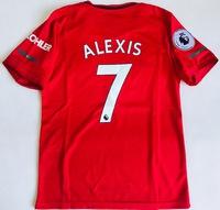 Dziecięcy zestaw piłkarski MANCHESTER UNITED Home 19/12 ADIDAS (koszulka+spodenki+getry) #7 ALEXIS