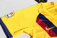 Dziecięcy zestaw piłkarski FC BARCELONA NIKE Away 19/20 (koszulka+spodenki+getry) #10 MESSI