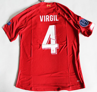 Zestaw piłkarski FC LIVERPOOL home 19/20 NEW BALANCE #4 VIRGIL