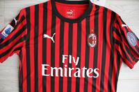 Koszulka piłkarska AC MILAN Authentic Home 19/20 Puma #9 Piątek