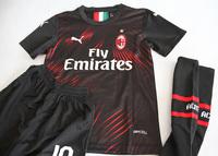 Dziecięcy zestaw piłkarski AC MILAN PUMA 3rd 19/20 (koszulka+spodenki+getry) #9 PIĄTEK