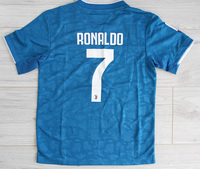 Dziecięcy zestaw piłkarski JUVENTUS TURYN ADIDAS 3rd 19/20 (koszulka+spodenki+getry) #7 Ronaldo