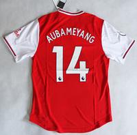 Koszulka piłkarska ARSENAL Londyn home 19/20 Authentic ADIDAS, #14 Aubameyang