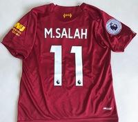 Dziecięcy zestaw piłkarski FC LIVERPOOL NEW BALANCE home 19/20 #11 M.SALAH