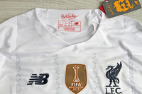 Koszulka piłkarska FC LIVERPOOL Away 19/20 NEW BALANCE #4 VIRGIL