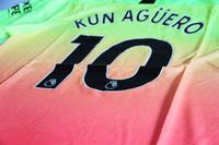 Koszulka piłkarska MANCHESTER CITY PUMA 3rd 19/20 #10 Kun Aguero