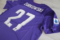 Koszulka piłkarska AC FIORENTINA Home Le Coq Sportif 19/20 #27 Żurkowski