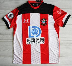 Koszulka piłkarska SOUTHAMPTON FC 19/20 Home UNDER ARMOUR, #35 BEDNAREK