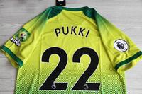 Koszulka piłkarska NORWICH CITY FC 19/20 Home ERREA, #22 PUKKI