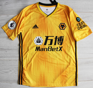 Koszulka piłkarska WOLVERHAMPTON Adidas 19/20 Home #28 J.Moutinho