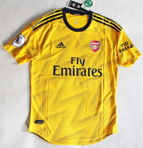Koszulka piłkarska ARSENAL Londyn away 19/20 Authentic ADIDAS, #14 Aubameyang