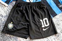 Dziecięcy zestaw piłkarski INTER MEDIOLAN Home 19/20 NIKE (koszulka+spodenki+getry) #10 Martinez