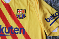 Koszulka piłkarska FC BARCELONA Senyera NIKE 19/20 Breathe Stadium